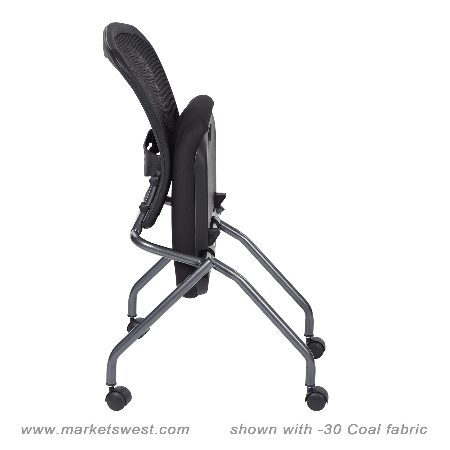 Folding Chair With Arms Deluxe Folding Chair With Progrid Back No Arms