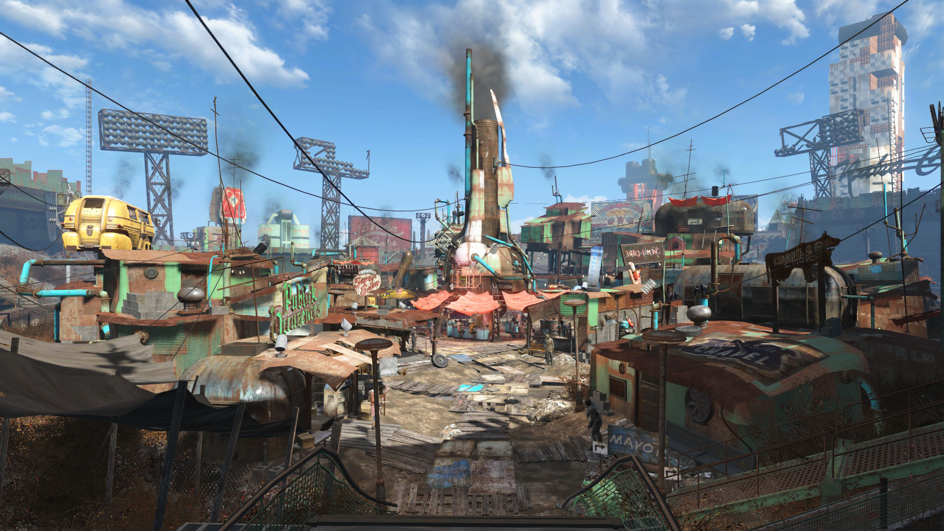 How Realistic Are the Cities of Fallout?