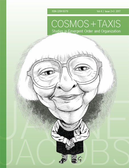 COSMOS + TAXIS Issue on Jane Jacobs