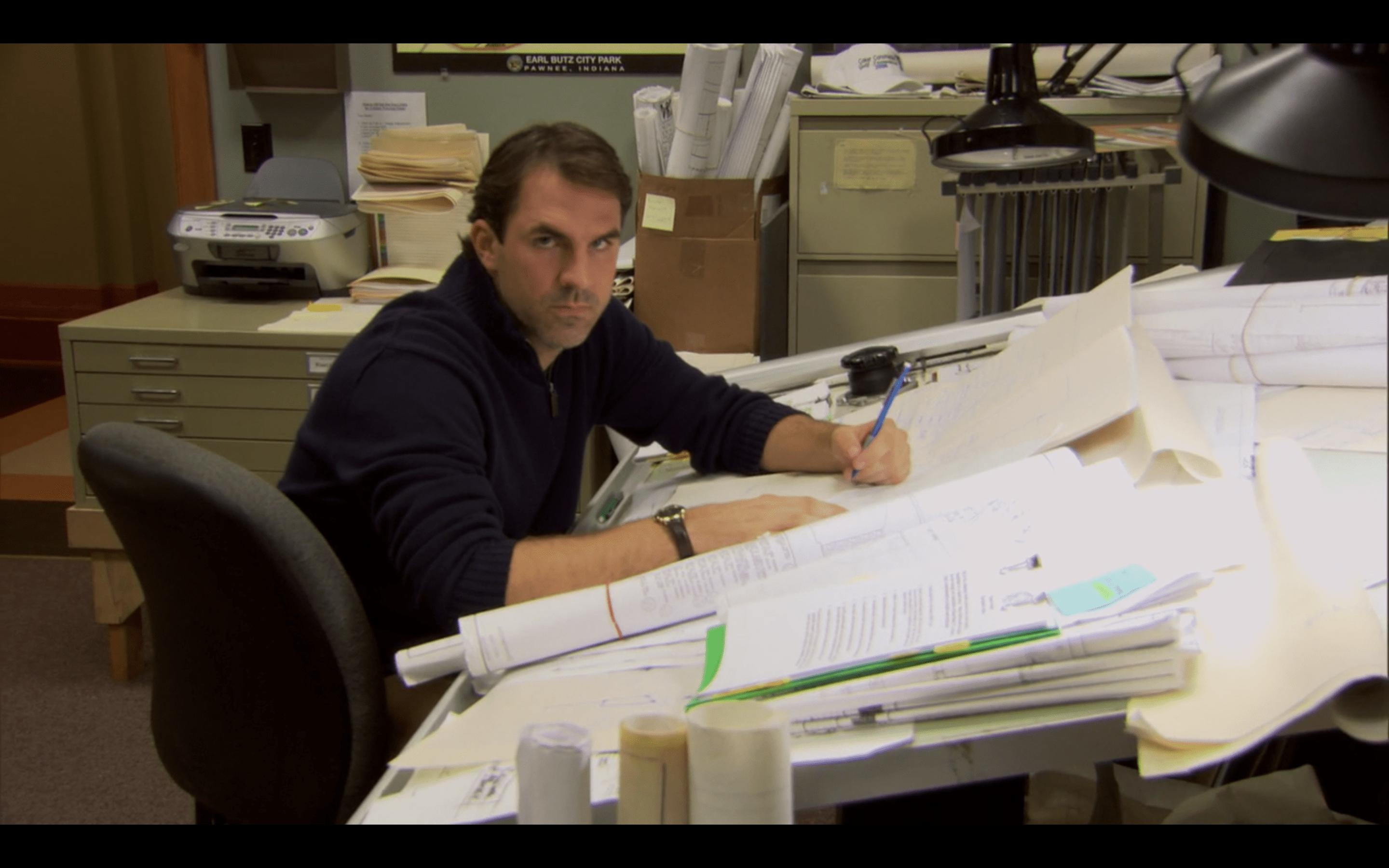 Mark Brendanawicz of NBC's Parks and Recreation
