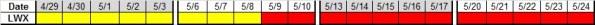 Next 4 wks LWX 4-26-2013