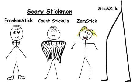 Scary Things AZ List