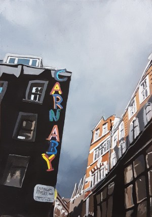 Grey Clouds, Sunshine, Carnaby art prints
