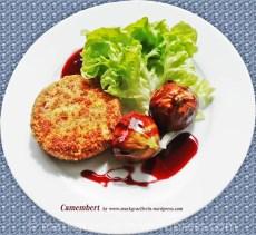 Gebackener Camembert mit Rotweinfeigen