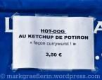 Currywurst mit Kürbis-Ketchup