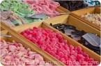 Fruchtgelee und saures Fruchtgummi