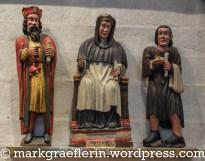 Sant Erwan / Der heilige Yves zwischen dem Reichen und dem Arman