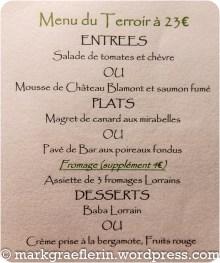Urlaub Lorraine Restaurant 2