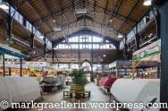 Die Markthalle - Innenansicht