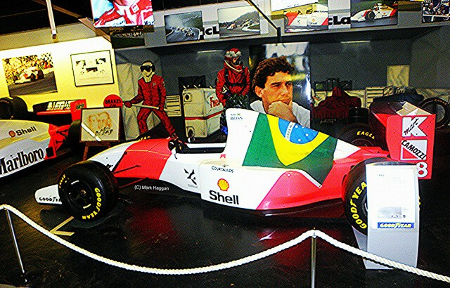The Ayrton Senna collection at Donington