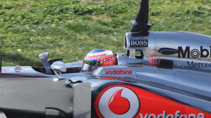 Jenson Button in Winter Testing 2013