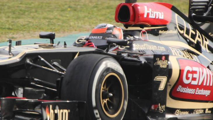Kimi Raikkonen in Winter Testing 2013
