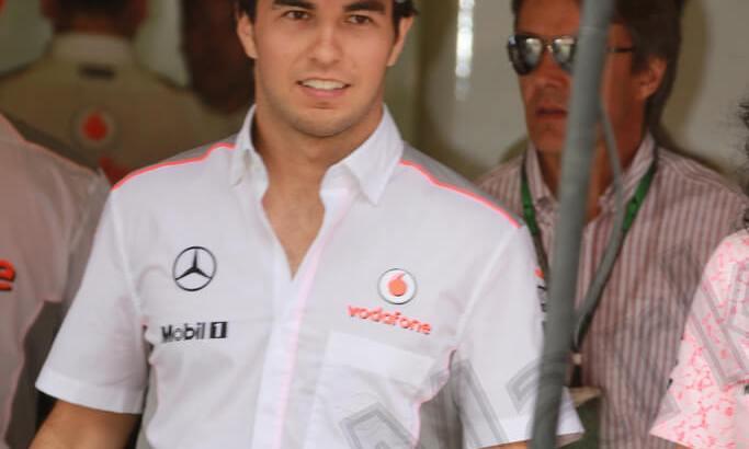 Sergio Perez at the 2013 Spanish Grand Prix