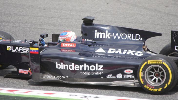 GP2 on Friday at the 2013 Spanish Grand Prix
