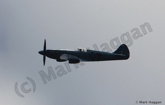 A spitfire at Moira Canal Festival