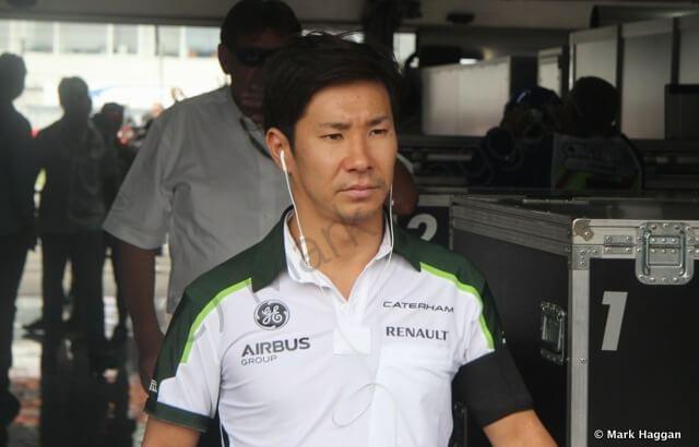 Kamui Kobayashi at the German Grand Prix 2014