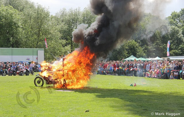 Moto-Stunts International at the Heart of the Forest Festival