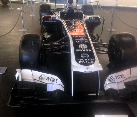 Pastor Maldonado's 2011 FW33 at The Donington Collection