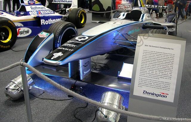 Formula E at Donington Park