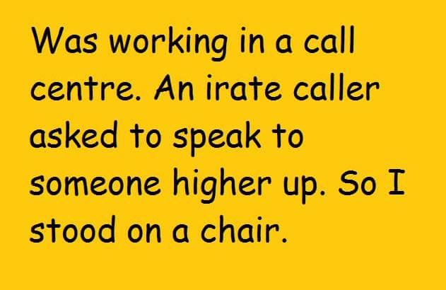 Chair Joke