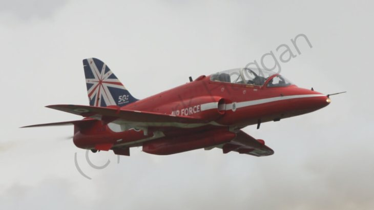 The Red Arrows at the 2014 British Grand Prix