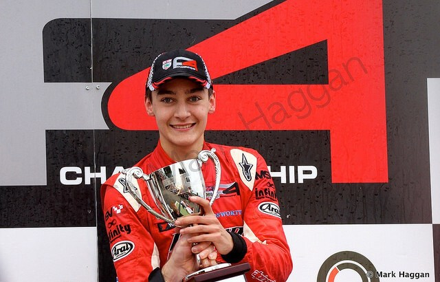 George Russell becomes 2014 BRDC F4 champion