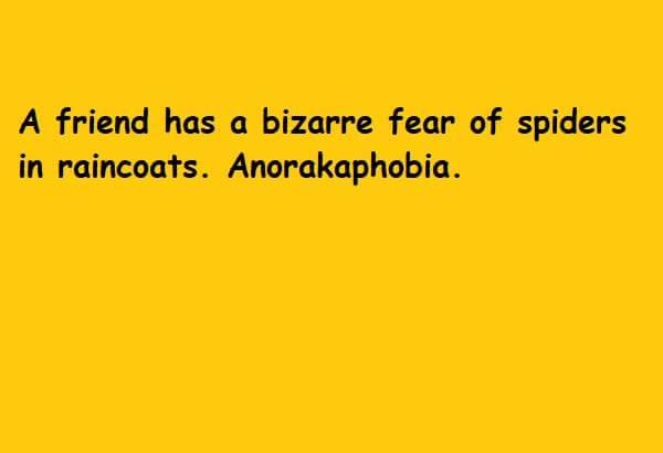 anorakophobia