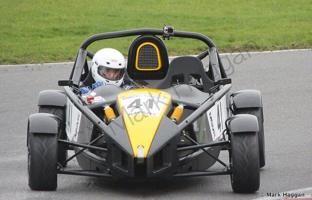 Marc Mercer in the Aerial Atom Cup at Snetterton