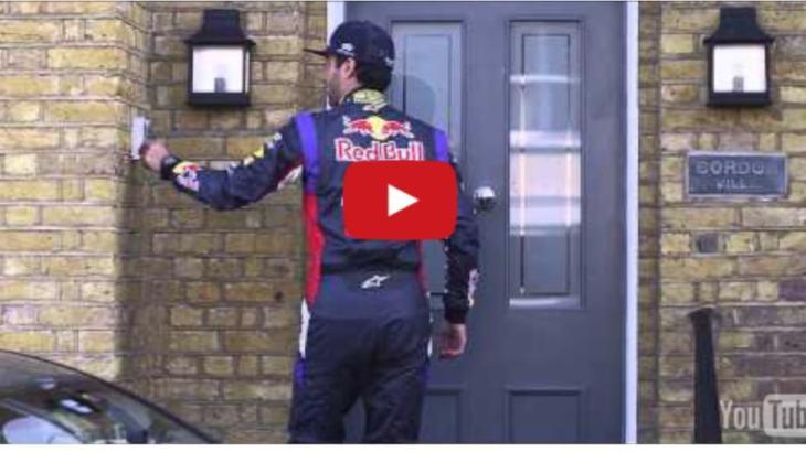 Daniel Ricciardo provides an Infiniti Test Drive