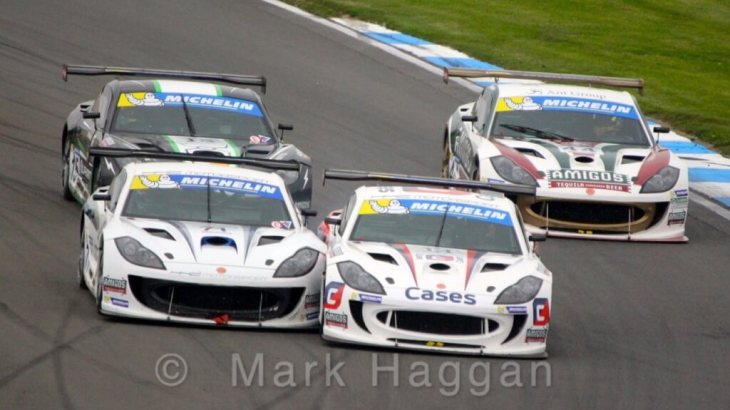 Ginetta Racing at Donington Park