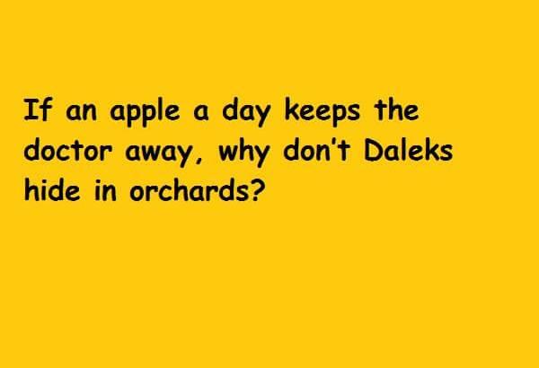 Dalek Apples