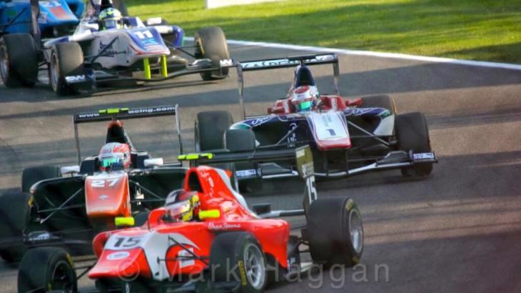 GP3 at the 2015 Belgium Grand Prix