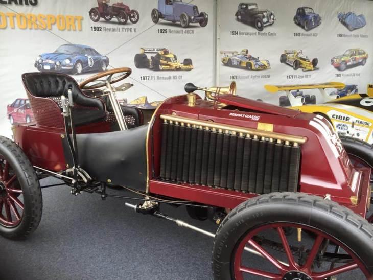 Historic Renault vehicles