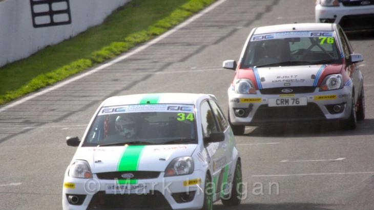 Fiesta Junior Championship 2015 at Brands Hatch