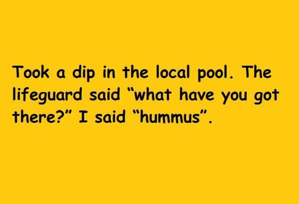 I said hummus