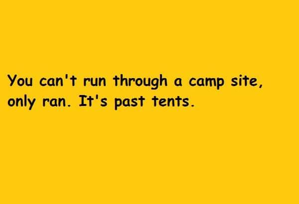 its past tents
