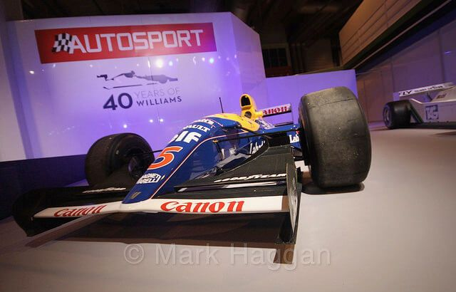 Nigel Mansell's FW14B