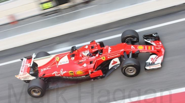 Ferrari at F1 Winter Testing 2017