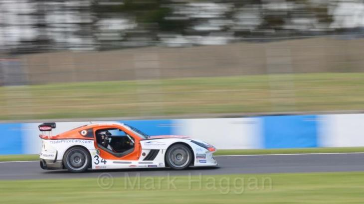 Ginetta GT4 Supercup at Donington 2017