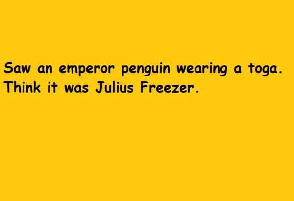 Think it was julius freezer