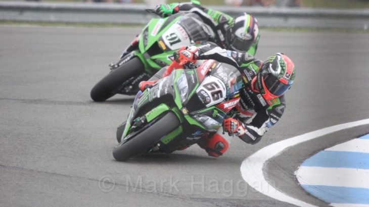 World Superbikes at Donington, May 2017