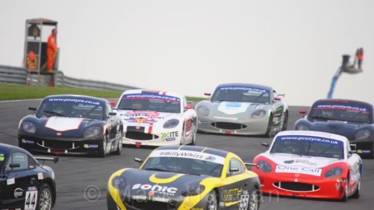 Ginetta GT5 Challenge Donington Rounds 2017