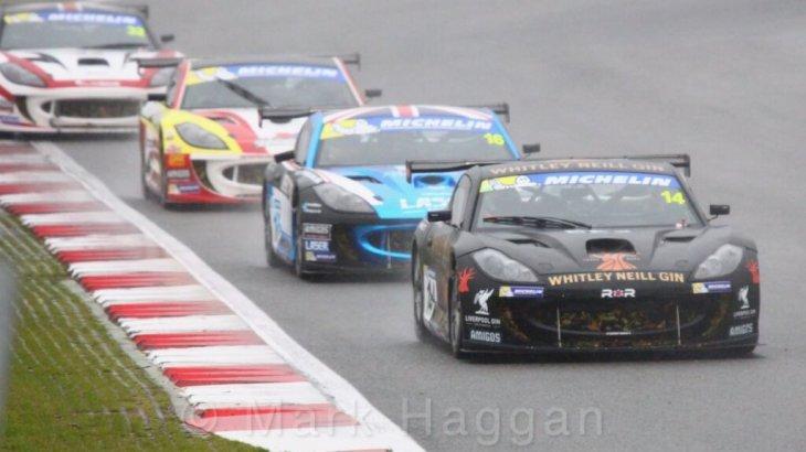 Declan Jones in the Ginetta GT4 Cup