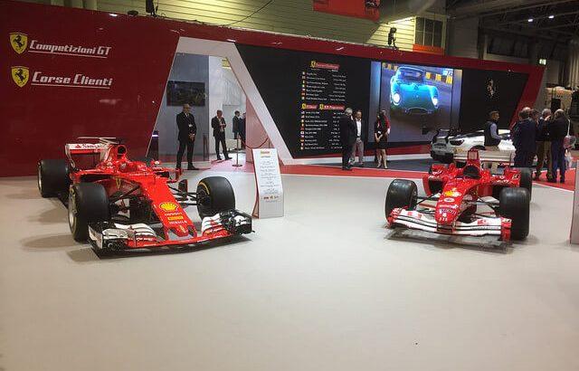 Ferraris at Autosport 2018