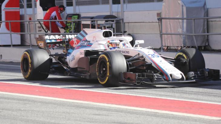 Sergey Sirotkin in Formula One Winter Testing 2018