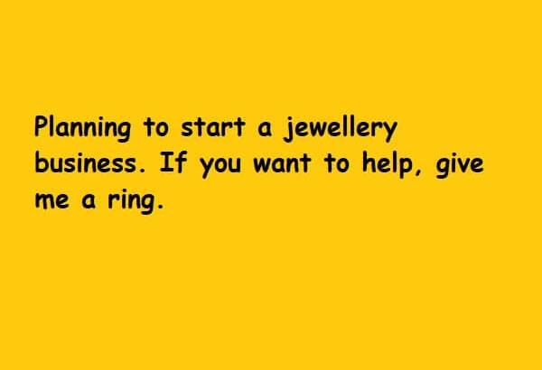 Planning to start a jewellery business