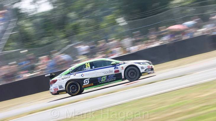 Jake Hill at Oulton Park, June 2018
