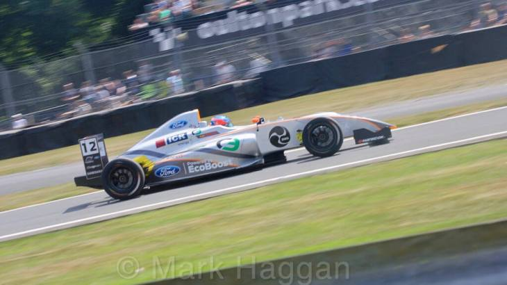 British F4 at Oulton Park June 2018