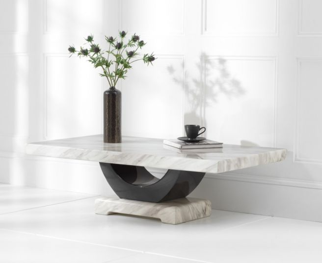 rivilino cream marble coffee table