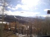 From the gondola ...